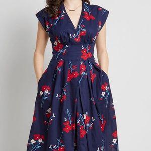 Modcloth X Emily & Fin Saunter Sweetly dress 2X